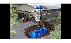 Non Pressurised Rainwater Harvesting Systems