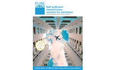 Certified Wastewater System for Customers - Brochure