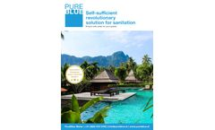 Ensure Safe Water for Your Guests - Brochure