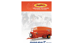 Samurai 7 Series Horizontal Chopping-Mixing Wagons Without Silage Tiller - Brochure