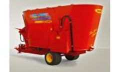 Tiger - Trailed 2 Augers Chopping-Mixing Wagons with Direct Discharge