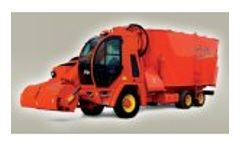 Tuareg - Model 7 - Self-Propelled Chopping-Mixing Wagons Vertical 2 Augers with Silage Tiller
