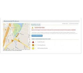 Environmental Risk Rating Software