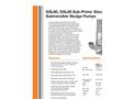Sub-Prime - GSL60/GSL80 - Electric Submersible Sludge Pumps Brochure