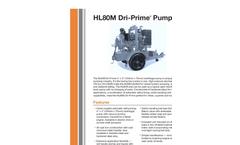 Dri-Prime - HL80M - Centrifugal Pump Brochure