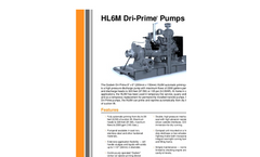 Dri-Prime - HL6M - Automatic Self-Priming Centrifugal Pump Brochure