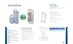Avantapure - Compact Automatic Up Flow Softeners - Brochure