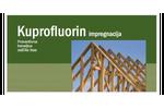 Kuprofluorin impregnation – protecting wood