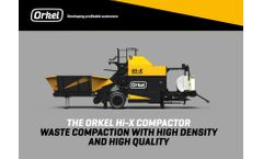 Orkel - Model Hi-X - Compactor - Brochure
