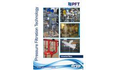 PFT - Cumulative Settling Filters - Brochure