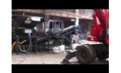 SH 90 - Double Shaft Shredder by Aymas Recycling Machinery - Video