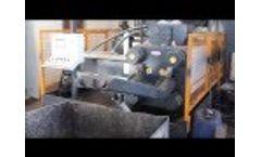 BP 120 Chip Briquetting Press - Video