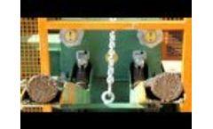 BP 80/100 Chip Briquetting Press - Video