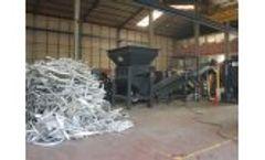 AYMAS - Model SH 45H - Scrap Metal Shredder