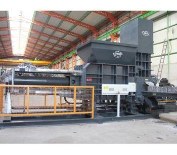 AYMAS - Model HP3-CT (40x40) - Continuous Scrap Baler