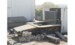 AYMAS - Model HP3 (50x50) - Scrap Baler