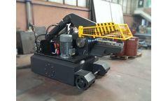 AYMAS - Model HM 52 - Alligator Scrap Shear