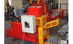 AYMAS - Model CP (50X30) - Used Beverage Can Baler