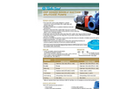 Türbosan - Model CEP series - Splitcase Pumps Brochure