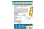Türbosan - Model CAP Series - Sewage and Wastewater Pump - Brochure