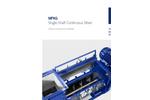Single-Shaft Continuous Mixer (MFKG) Brochure