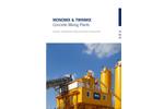 Concrete Mixing Plants (MONOMIX & TWINMIX) Brochure