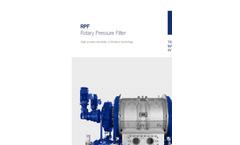 Rotary Pressure Filter (RPF) Brochure
