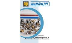 Multinupi - Model PE100 - Multilayer Piping System - Brochure