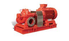 Model Type PDN-PD - Horizontal Split-Case Type Centrifugal Fire Pumps