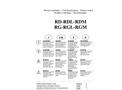 Salvatore - Model RD (RDB-RDL-RDM) - Centrifugal Pumps