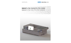 Maxflow - Self-Cleaning Continuous Belt Filter Systems Brochure