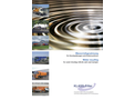 Water Recycling for Canal Cleaning Vehicles and Road Sweeper - Brochure