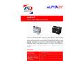 Model ADB017 - Air Operated Diaphragm Pumps Brochure