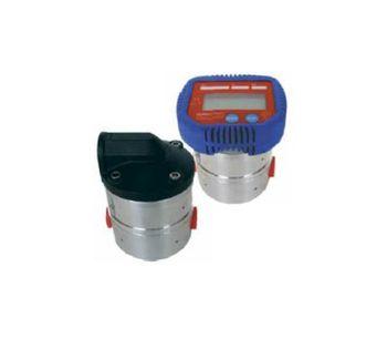 Model ADF 02 - Small Capacity Oval Gear Flowmeters