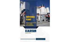 Elkayam - Concrete Batching Plantreatment Brochure