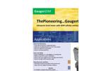 GaugerGSM - Ultrasonic Level Sensor Brochure