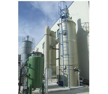 Ecochimica - Model TW-STR Series - Air-Stripping Tower