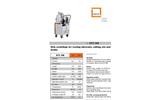 OTC 350 - Disk Centrifuges - Datasheet