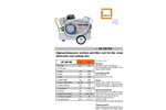 MKR - Model SF 250 HD - Suction and Filter Cart Datasheet