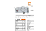 MKR - Model SF 1000 - Suction and Filter Cart Datasheet