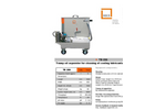 TB 250 - Tramp Oil Separator - Datasheet