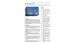 Model PGS Series - Pump Control Unit Brochure