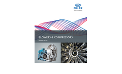 Piller Blowers & Compressors - Product Overview - Brochure