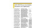 GDS - Model 68XP - Process Monitor for Low Oxygen Streams- Brochure