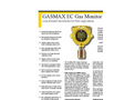 Gasmax - Model EC - Single Channel Toxic Gas Monitor- Brochure