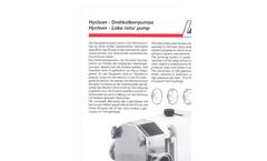 Rotary Lobe Pump HCL- Brochure