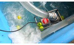 Mast-Pumpen - Model ATP 10 R - Submersible Sewer Pump - Video
