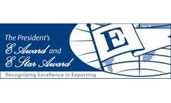 SnowPure Receives US President`s E- Award