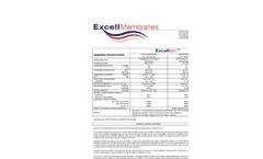 SnowPure Excellion - Ion Exchange Membrane - Specifications