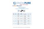 SnowPure Commercial ediPureSource Power Supplies - Datasheet